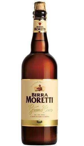 Birra MORETTI Grand Cru Bier 75 cl / 6.8 % Italien