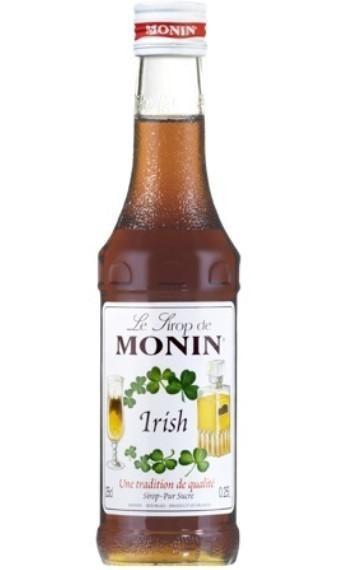 MONIN Premium Irish Kaffee / Irish Coffee Sirup KLEINFLASCHE 25 cl Frankreich