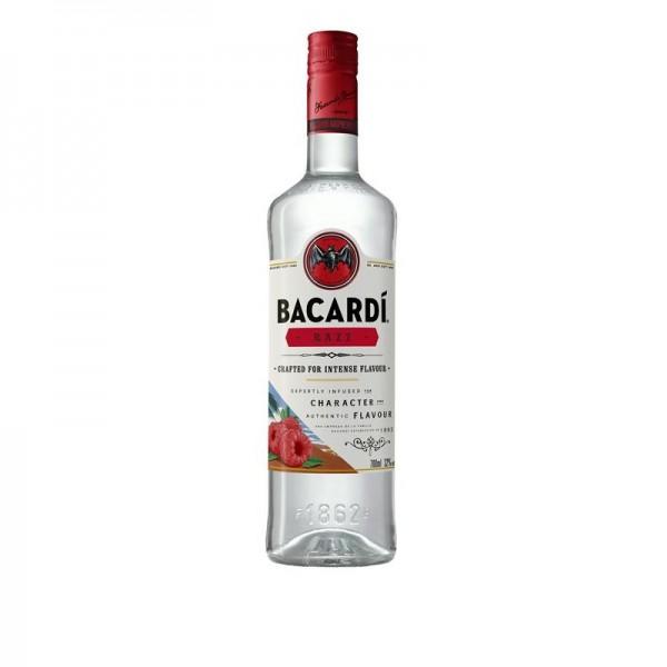 BACARDI RAZZ Raspberry flavoured Rum Drink 70 cl / 32 % Puerto Rico