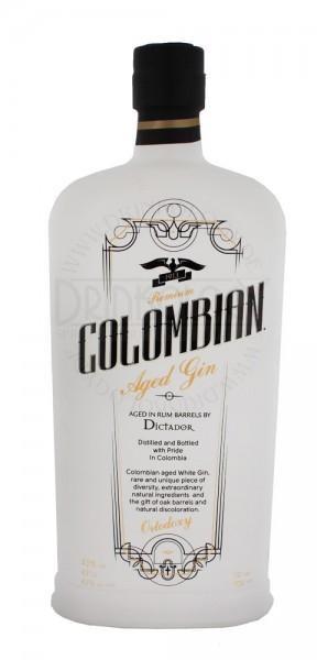 COLOMBIAN Aged Gin White ORTODOXY 70 cl / 43 % Kolumbien