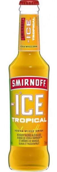 Smirnoff Ice TROPICAL 275 ml / 4 % Italien
