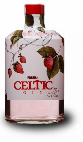 CELTIC Gin STRAWBERRY 70 cl / 37.5 % Spanien
