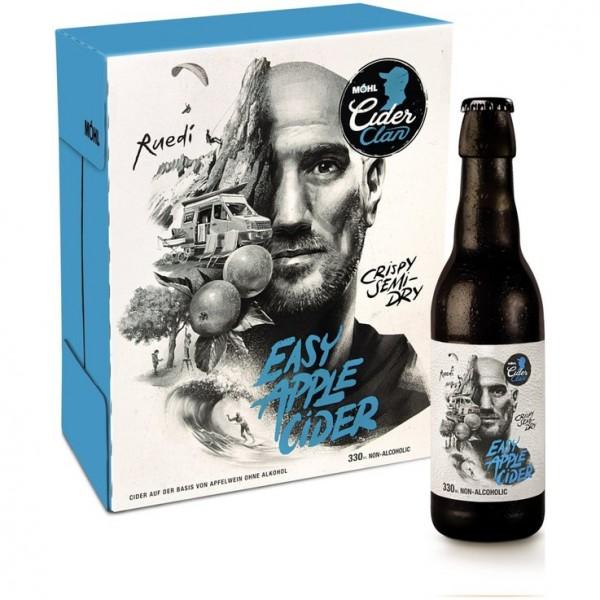 Möhl EASY Apple Cider Alkoholfrei Kiste 24 x 330 ml Schweiz