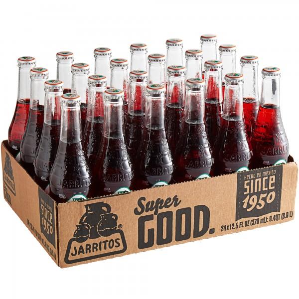 JARRITOS JAMAICA natural flavor soda Kiste 24 x 370 ml Mexiko