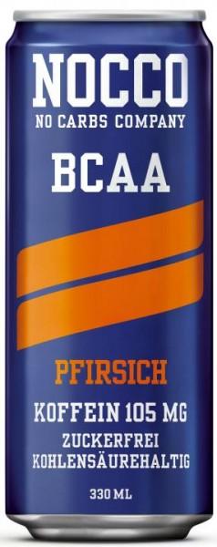 NOCCO BCAA Pfirsich 330 ml Schweden
