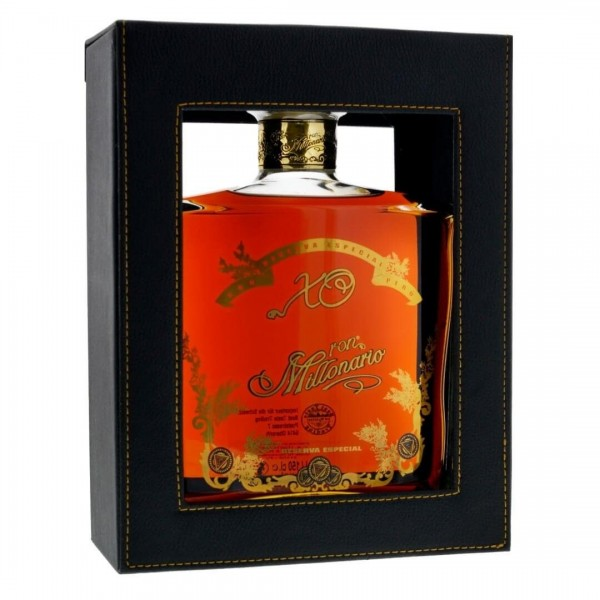 Ron Millonario XO MAGNUM Leather Box 1.5 Liter / 40 % Peru