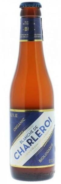 BLANCHE DE CHARLEROI Wit Beer BIO Kiste 24 x 330 ml / 5 % Belgien