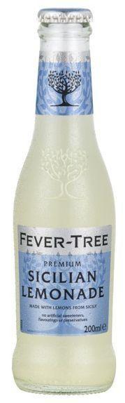FEVER-TREE Sicilian Lemonade 24 x 200 ml UK