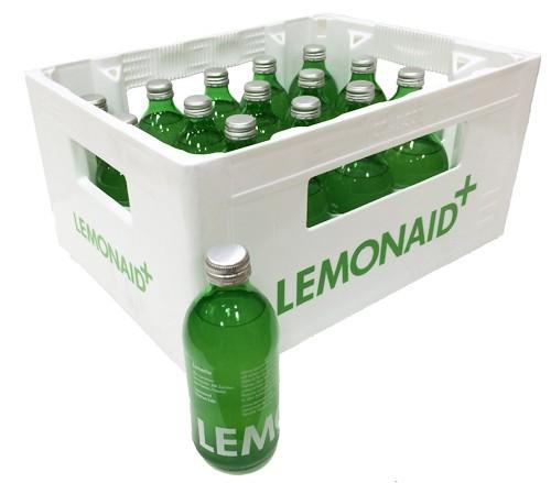 LemonAid Limette Kiste 20 x 330 ml Glas Deutschland