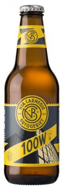 NYA Carnegie 100W IPA 330 ml / 6.8 % Schweden