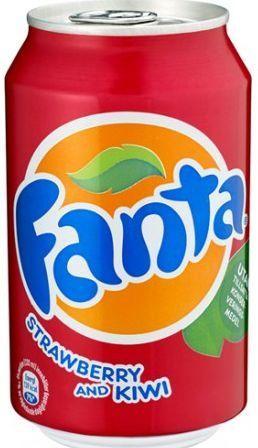 Fanta Strawberry & Kiwi 330 ml Dänemark