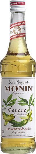 MONIN Premium Bananen / Banana Sirup 70 cl Frankreich