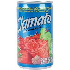 CLAMATO Tomato Juice Cocktail by Motts Dose 163 ml USA