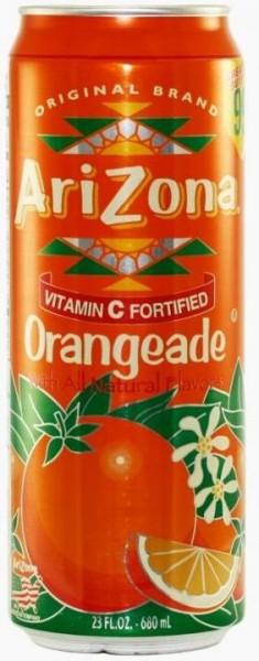 Arizona Orangeade 680 ml USA