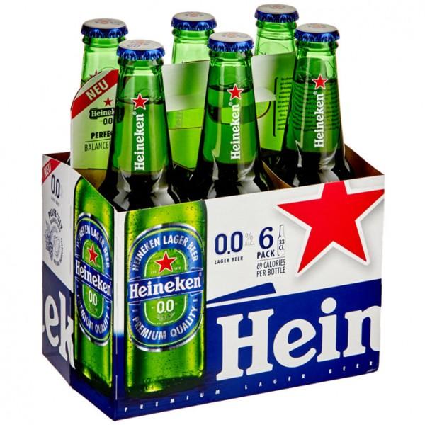 Heineken 0.0 % ALKOHOLFREI Kiste 24 x 330 ml Holland
