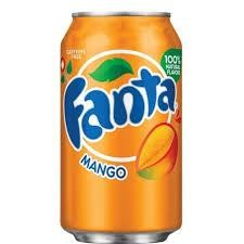 Fanta MANGO 355 ml USA