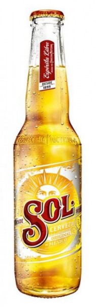 SOL Lager Bier 330 ml / 4.5 % Mexiko