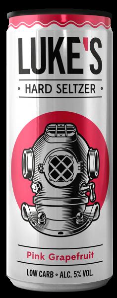 LUKE'S Hard Seltzer PINK GRAPEFRUIT 330 ml / 5 % Österreich
