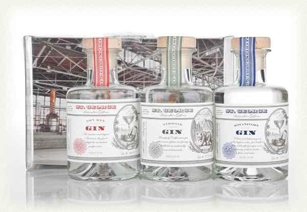 ST. GEORGE Combo Gin Set 3 x 20 cl / 45 % USA