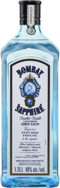 Bombay Sapphire Gin MAGNUM 1.75 Liter / 40 % UK