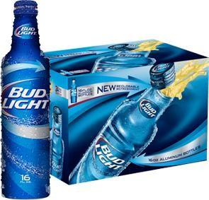 Bud Light Aluflasche Kiste 24 x 473 ml / 4.2 % USA