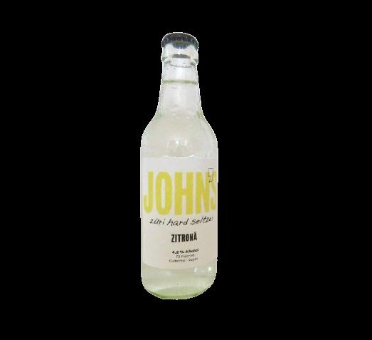 JOHNS Züri Hard Seltzer ZITRONEÄ 330 ml / 4.2 % Schweiz