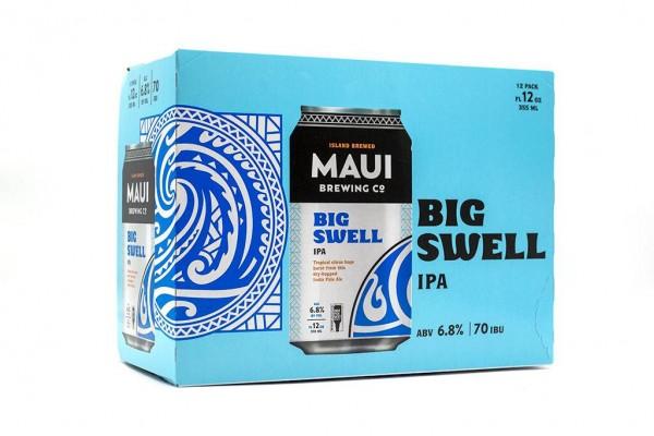 Maui Brewing BIG SWELL IPA Kiste 24 x 355 ml / 6.8 % Hawaii