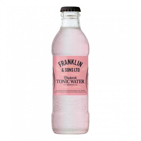 Franklin & Sons RHUBARB TONIC Water 200 ml UK