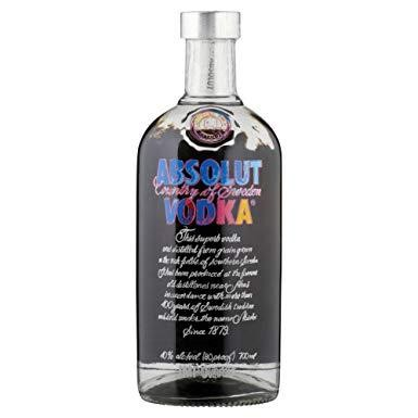 Absolut ANDY WARHOL Special Edition 70 cl / 40 % Schweden