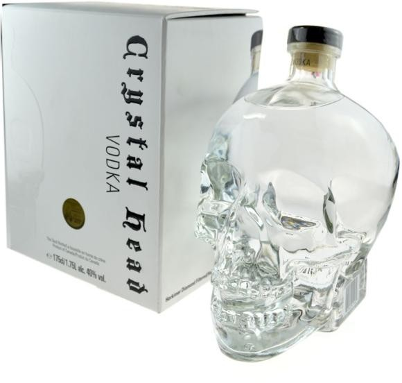 Crystal Head Vodka Magnum Skullflasche 1.75 Liter / 40 % Kanada