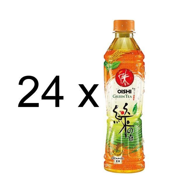 Oishi Grüntee GENMAI Flavour Kiste 24 x 500 ml PET Thailand
