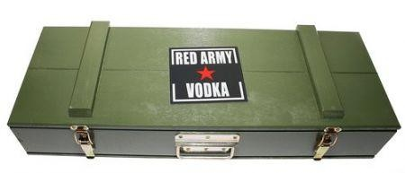Kalaschnikov Red Army Vodka 100 cl / 40% Polen