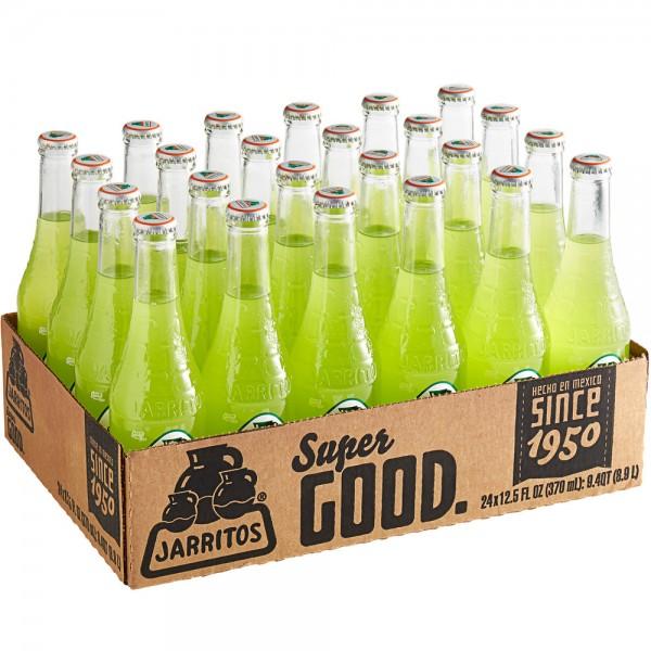 JARRITOS Lime natural flavor soda Kiste 24 x 370 ml Mexiko