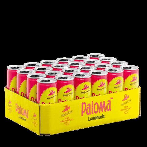 PALOMA Lemonade Pink Grapefruit Kiste 24 x 250 ml Deutschland