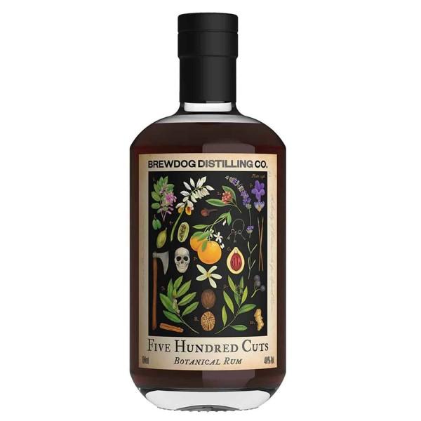 Brew Dog 500 CUTS Botanical Rum 70 cl / 40 % Schottland
