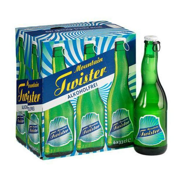 MOUNTAIN TWISTER Mixdrink Apfellimonade und alkoholfreies Bier Kiste 24 x 330 ml Schweiz