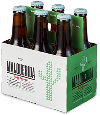 Estrella Damm MALQUERIDA Roja FRESCA Bier Kiste 24 x 330 ml / 5 % Spanien