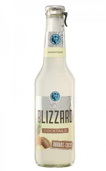 BLIZZARD Ananas - Cocos Cocktail 275 ml / 5,9 % Deutschland