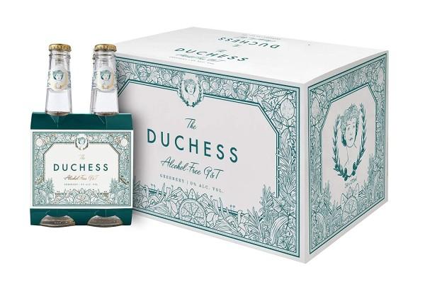 The Duchess GREENERY Alkoholfreier Gin & Tonic Kiste 24 x 275 ml Südafrika