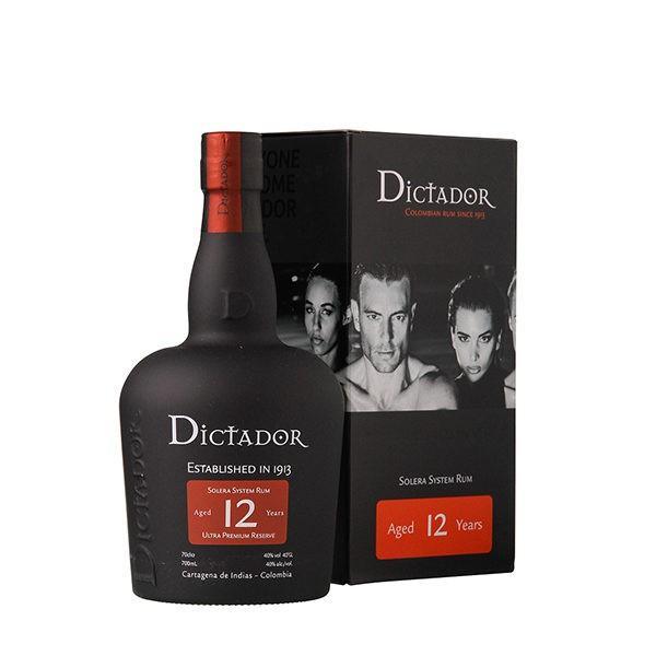 Dictador 12 Years Rum 70 cl / 40 % Kolumbien