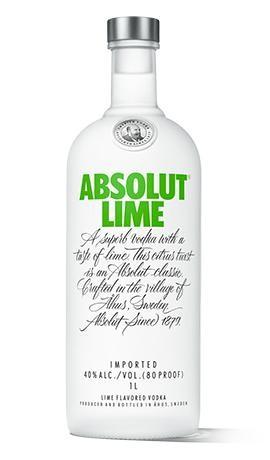 Absolut Vodka LIME 70 cl / 40 % Schweden