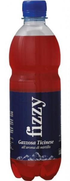 Gazosa FIZZY Heidelbeere / Mirtillo PET 500 ml Schweiz