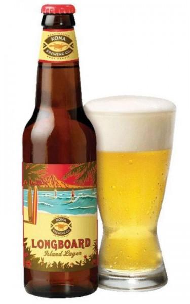 Kona Longboard Island Lager Bier 355 ml / 4.6 % Hawaii