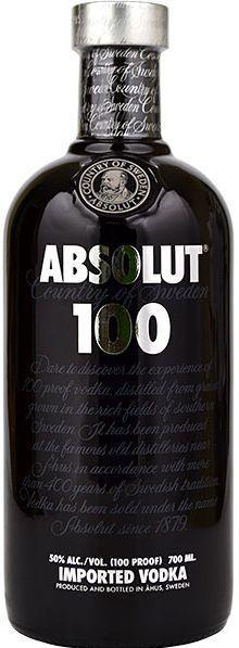 Absolut 100 Vodka 70 cl / 50 % Schweden