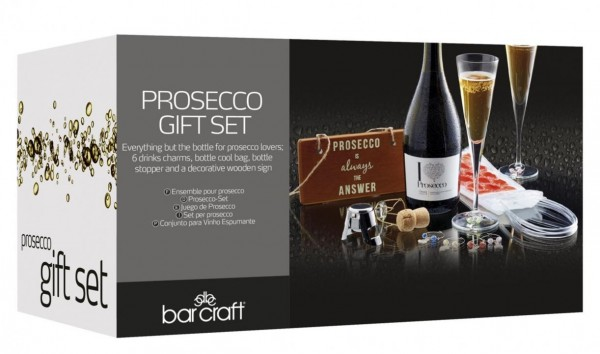 Prosecco Gift Set 9 teilig by BarCraft