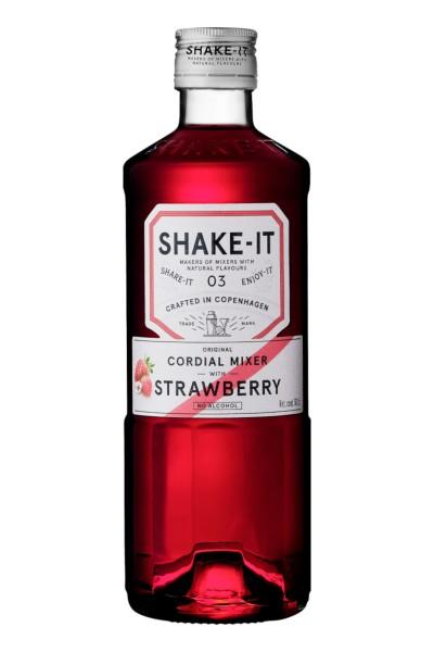 Shake- It 03 STRAWBERRY JUICE Original Cordial Mixer Alkoholfrei 50 cl Dänemark