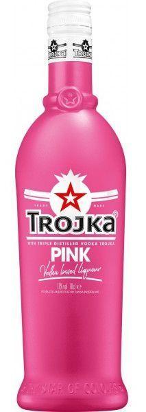 TROJKA PINK Vodka Likör 70 cl / 17 % Schweiz