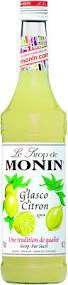 MONIN Premium Glasco / Citron Sirup 70 cl Frankreich