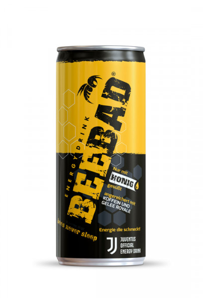 BEEBAD Energy Drink 250 ml Italien