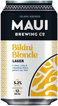 Maui Brewing BIKINI Blonde Lager 355 ml / 5.1 % Hawaii